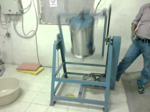 GTI ptfe resin mixer machine