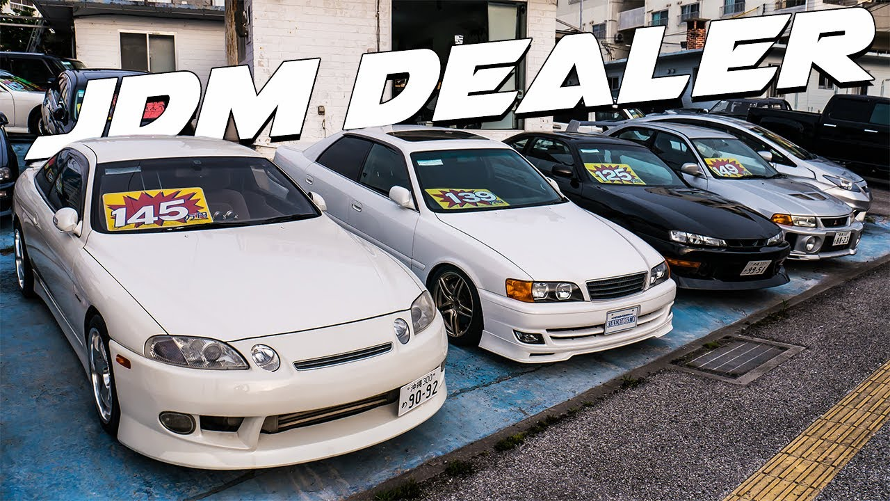 How Cheap Are Jdm Sports Cars In Japan At A Dealership Youtube