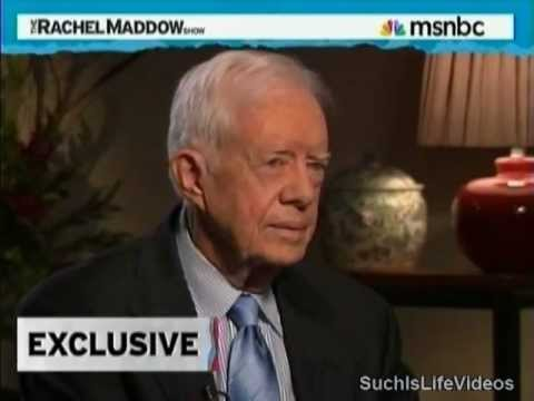 Rachel Maddow - Jimmy Carter On GOP Elevating Ronald Reagan To Sainthood