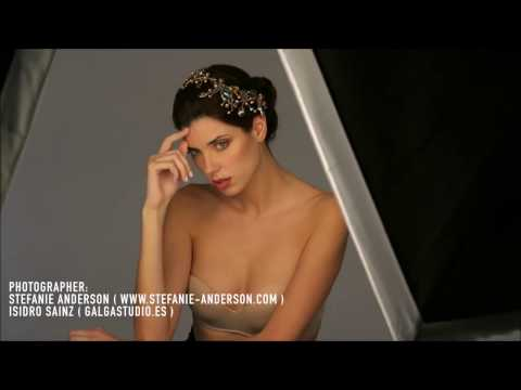 MAKING OF - Photoshooting Beauty Editorial with Designer Jewelery
