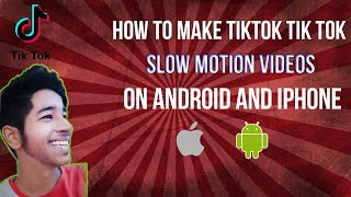 How to make tiktok slowmotion video with android/ios phone   tik tok slowmo tutorial