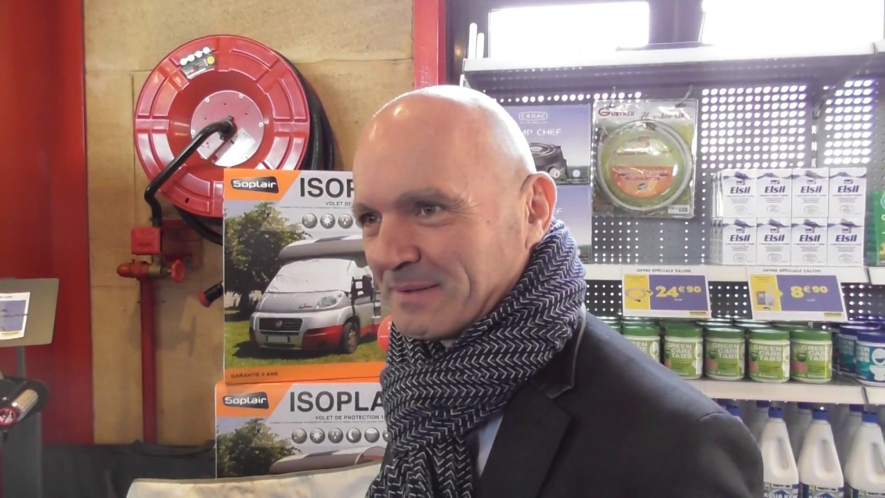 Isoplair En Direct Du Salon Du Camping Car De Narbonne Youtube