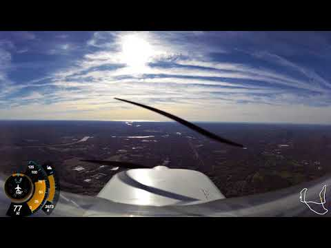Cessna 150 - Flying around Connecticut