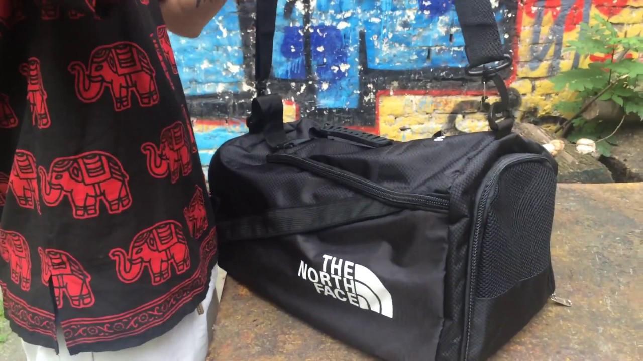 c77be73c1e56 Обзор Спортивна сумка рюкзак The North Face TNF зе норс фейс норз відеоогляд