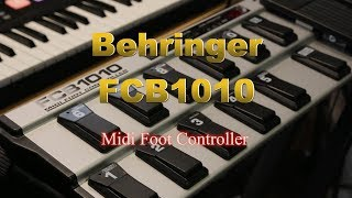 Behringer FCB1010 Full Tutorial / Video Manual