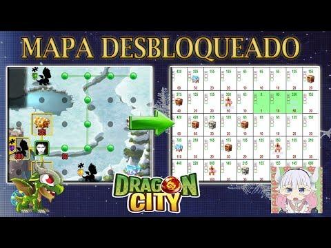 Mapa Desbloqueado Isla Nevada Dragon City HD