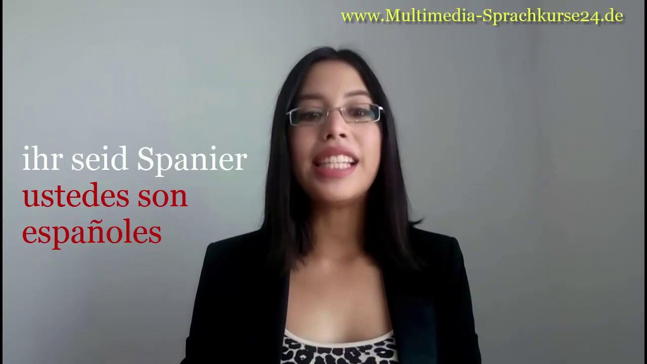 Kennenlernen spanisch