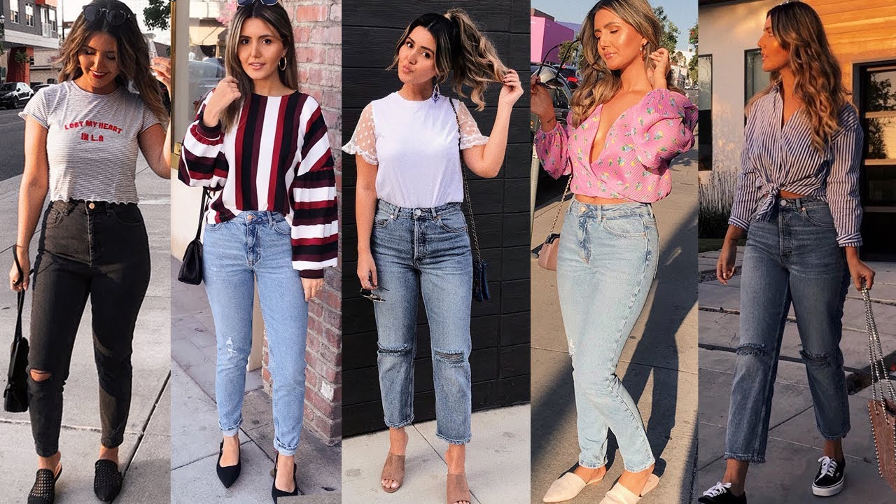 5 SUMMER OUTFITS | HOW I STYLE JEANS 9