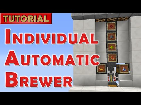 Minecraft - Individual Automatic Potion Brewer for 1.9+