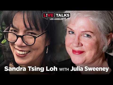 Sandra Tsing Loh in conversation with Julia Sweeney at Live Talks Los Angeles