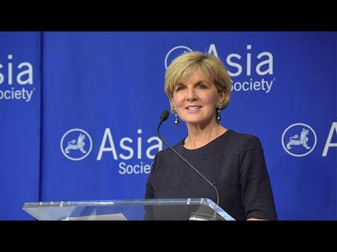 Commonwealth of Australia: Minister for Foreign Affairs Julie Bishop