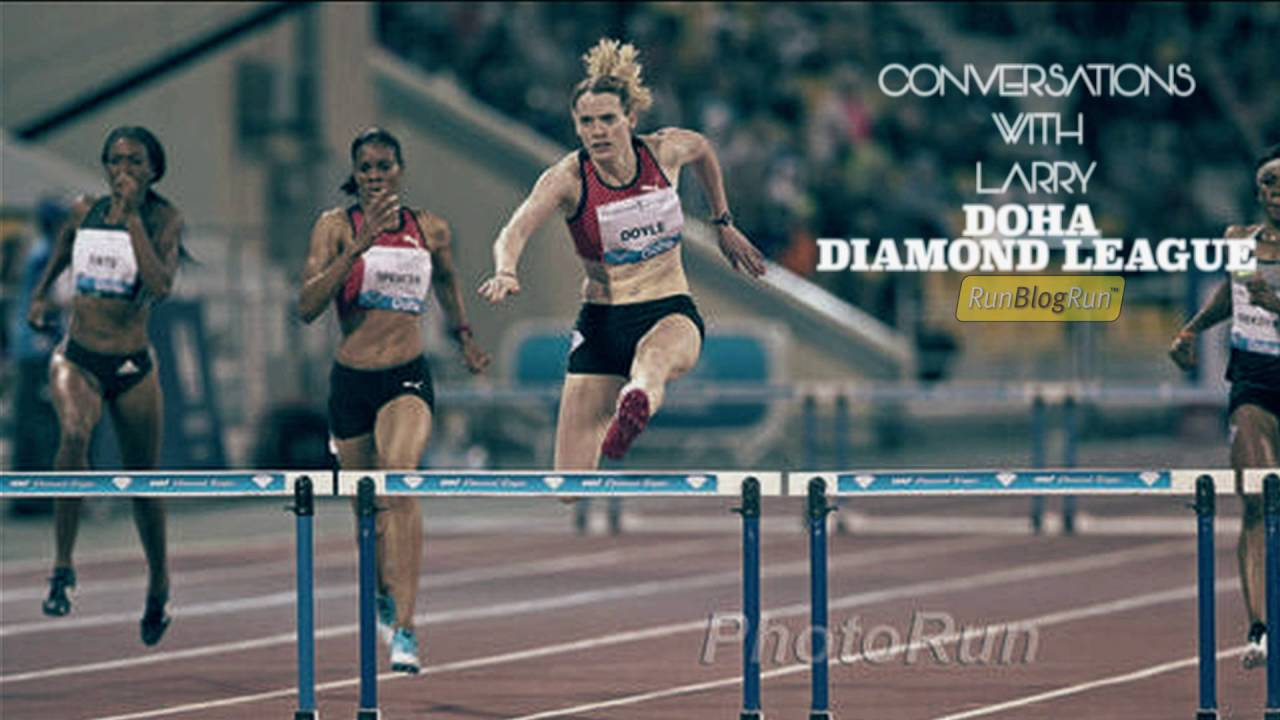 Conversations with Larry (Podcast): Doha Diamond League