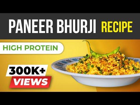 Paneer Bhurji - High Protein Vegetarian Recipes  - BeerBiceps EASY Vegetarian Recipes