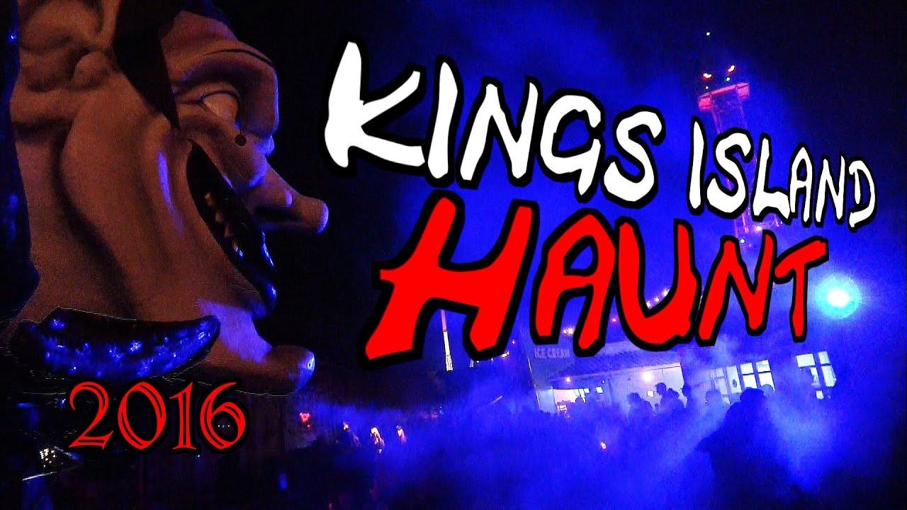 Kings Island HALLOWEEN HAUNT 2016 - YouTube