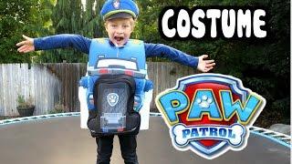 "PAW PATROL Costume ""Chase & Paw Patrol Police Cruiser"" New Paw Patrol Accessory"