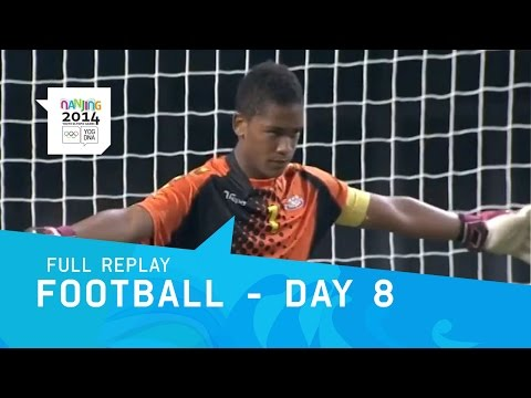 Football - Peru v Cape Verde Semi Final | Full Replay | Nanjing 2014 Youth Olympic Games