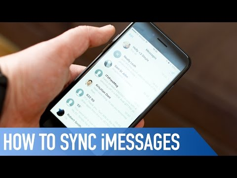 How to sync iMessages across devices