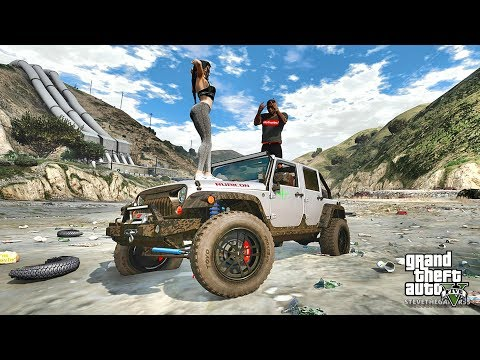 GTA 5 REAL LIFE MOD #369 OFFROADING !!! (GTA 5 REAL LIFE MODS)
