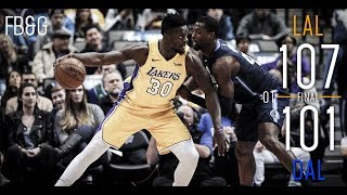 Lakers Rally, Extend Winning Streak to 4 Games