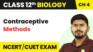 Contraceptive Methods - Natural Method | Reproductive Health | Class 12 | Biology | In Hindi