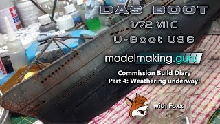 Commission Build Diary:  Das Boot U-96 Part 4