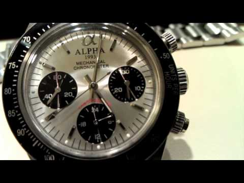 Review of the Alpha Paul Newman or Alpha Daytona Watch ...