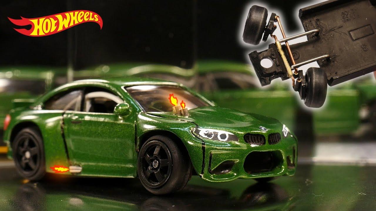 Crazy Steering Angle: BMW M2 Drift Car Hot Wheels Custom Premium