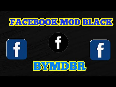 FACEBOOK MOD BLACK +FROST MOD COLORS APK NO ROOT 2017