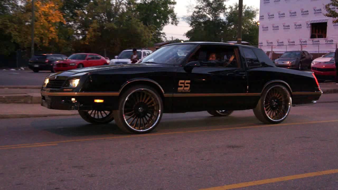Black G Body Monte Carlo SS of Forgiato Wheels on Jefferson Street