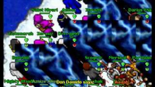 Tibia Eternia war Persistent vs Despiration 2011 Part 2