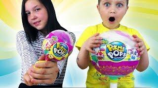 МЕГА ОГРОМНЫЙ ЧУПА-ЧУПС С Игрушками Пикми Попс / Сюрпризы в Шариках Pikmi Pops