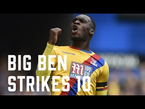Christian Benteke | First ten Premier League goals for Crystal Palace FC