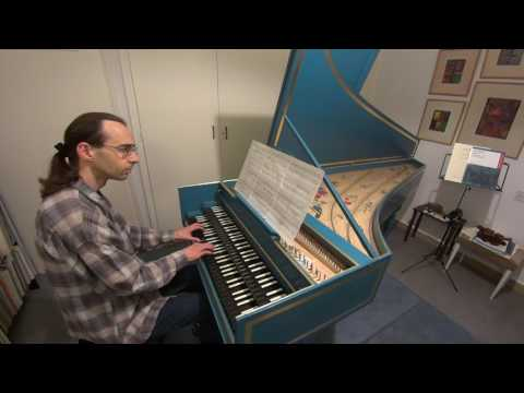 Marin Marais: La Rêveuse. John Moraitis, harpsichord.