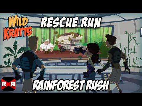 Wild Kratts Rescue Run - Rainforest Rush - Best Animals Learning Game For Kids