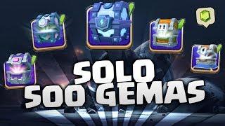 LOS 5 MEJORES COFRES solo por 500 GEMAS!!  | CLASH ROYALE