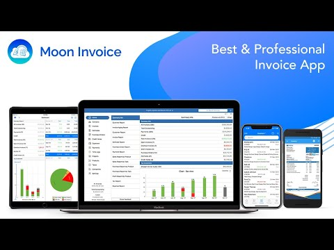 Moon Invoice   Simple Billing & Accounting Application
