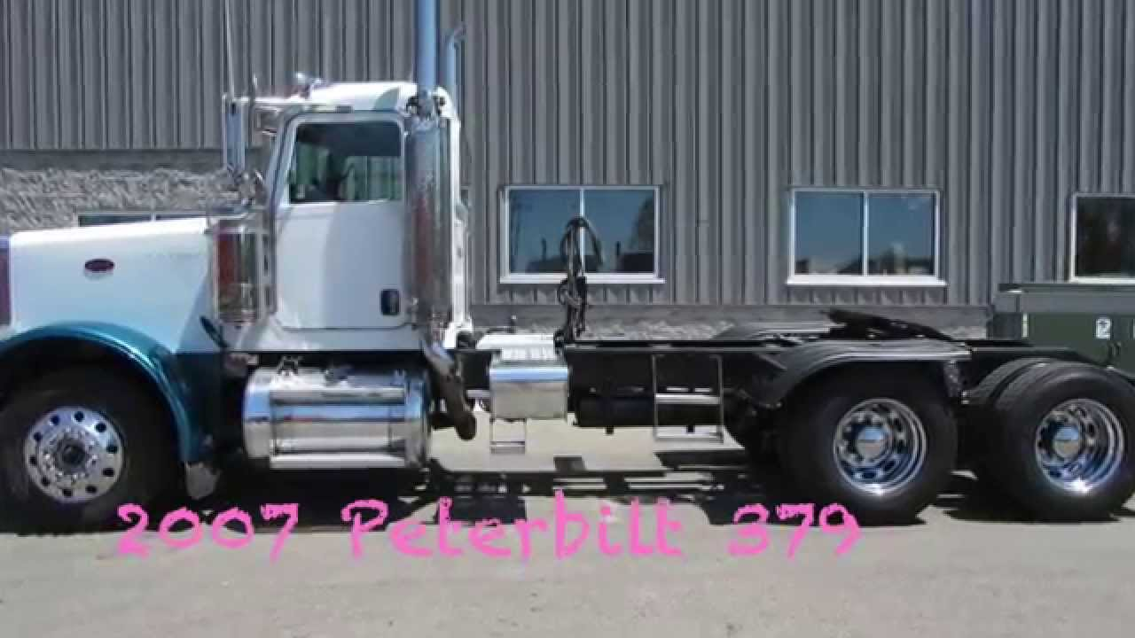 peterbilt day cab truck for sale in michigan used day cab peterbilt youtube. Black Bedroom Furniture Sets. Home Design Ideas
