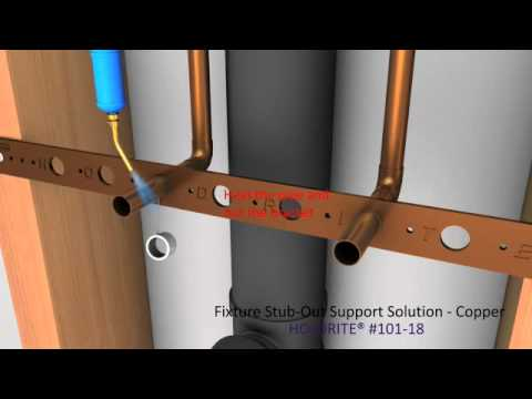 Fixture Stub Out Support Solution Copper Youtube