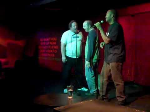 Best of B-Rock Karaoke - Crystal Blue Persuasion - with Steve and Soulman