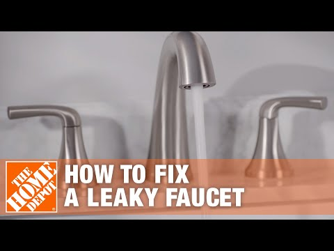 how-to-fix-a-leaky-faucet-|-the-home-depot