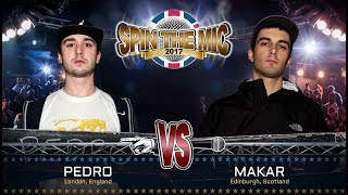 Pedro vs Makar Full Battle | Spin The Mic 2017