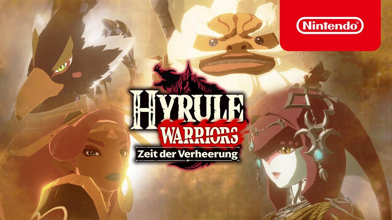 Helden Vereint Euch Hyrule Warriors Zeit Der Verheerung Nintendo Switch Youtube