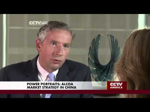 Alcoa CEO Klaus Kleinfeld talks about his outlook for economic growth
