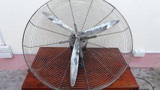 High Capacity Tree Fan Restoration - Machinery Restorer