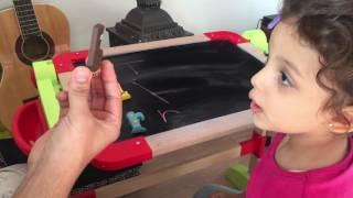 Apprendre l'alphabet avec les alphas pour les enfants