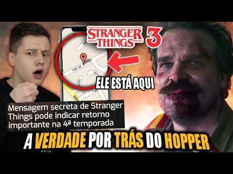 A MISTERIOSA TEORIA do HOPPER de STRANGER THINGS 3 - Entenda a MENSAGEM SECRETA