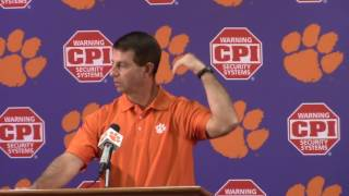TigerNet.com - Dabo Swinney press conference for SC - Part 1 - 11.22.2016