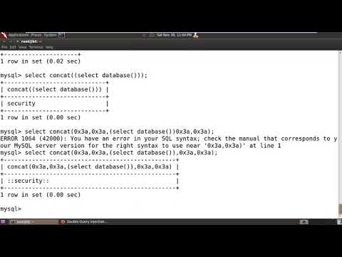 Udemy SQL Injection Master Course : Lecture 16    Important 26 commands for advance SQL Injection