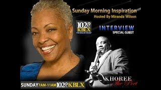 102.9 KBLX Sunday Morning Inspiration with Miranda