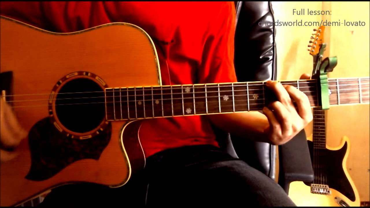 Two pieces chords demi lovato chordsworld guitar tutorial two pieces chords demi lovato chordsworld guitar tutorial hexwebz Images